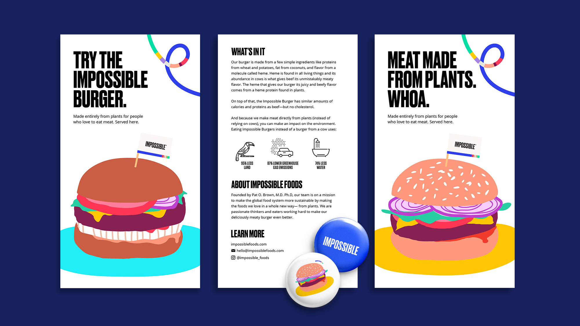 Impossible Foods: Collateral & Packaging